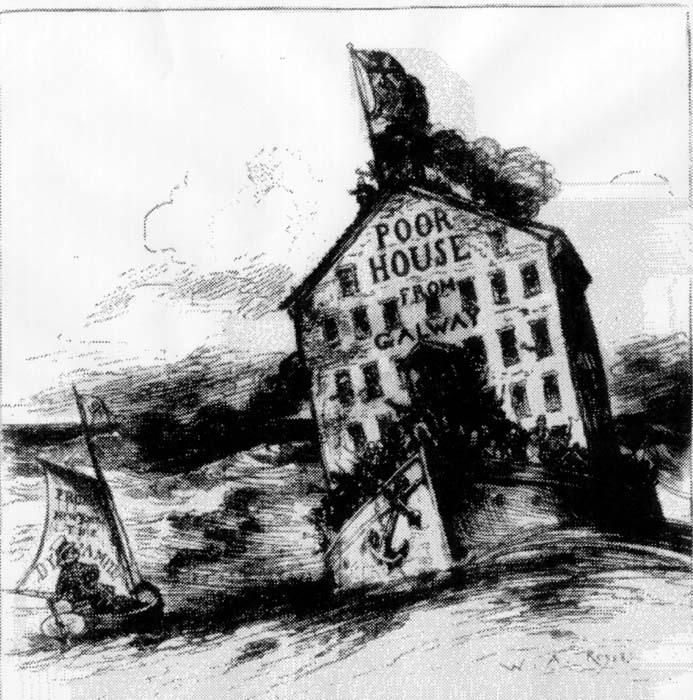Pleasant Poor House From Galway Cartoon The Gilder Lehrman Center Interior Design Ideas Apansoteloinfo