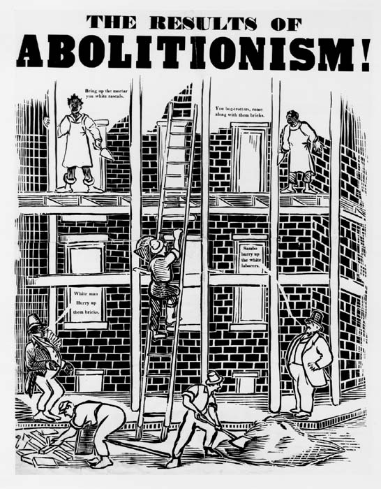 the results of abolitionism cartoon the gilder lehrman center