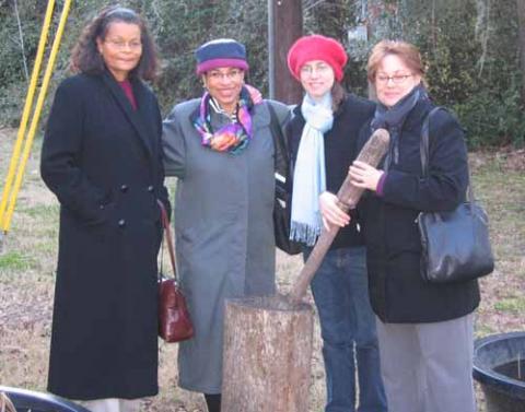 Debra Thurston, Leslie Morales, and Wendy and Eliza Diliberti