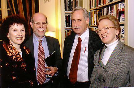 Edith & Harold Holzer, Peter Kolchin, and Drew Faust