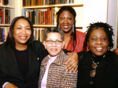 Yvette Barnard, Pat Cabral, Tonya Hart, and Carol Murphy