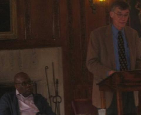 A lecture by Clarence Walker, Professor of History at University of California, Davis