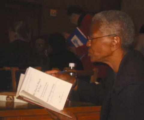 Book Signing, Mary Frances Berry