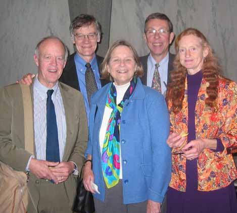 David Blight, James Stewart, Lloyd Garrison, Sarah Garrison, and Edith Garrison
