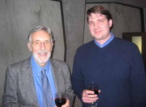 David Brion Davis and Mark Elliott