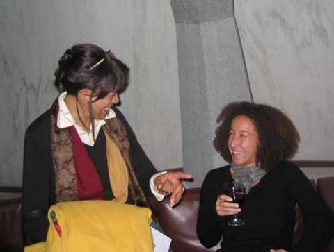 Angela Keiser and Cheryl Finley