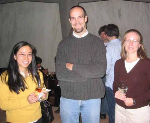 Kathryn Gin, Sam Schaffer, and Emily Brenner
