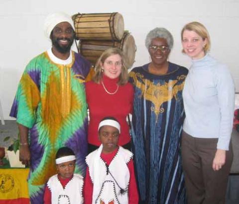 Sounds of Afrika, with Rachel Kindseth and Dana Schaffer