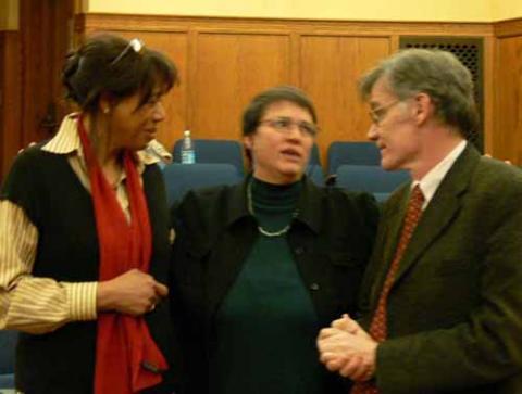 Angela Keiser, Jennifer Rycenga, and David Blight