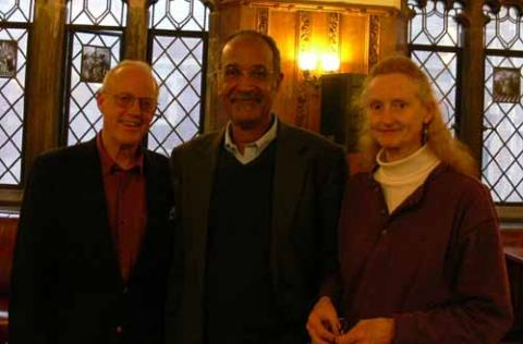 Lloyd Garrison, Richard Blackett, and Edith Garrison