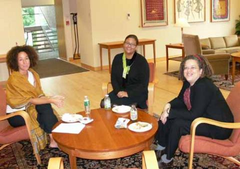 Cheryl Finley, Elizabeth Alexander, and Mia Bay