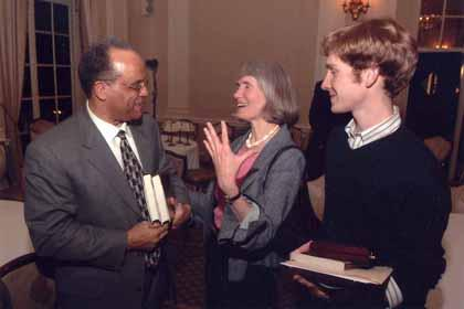 Reverend Jerry Streets, Rebecca Scott, and John Schott-Railton