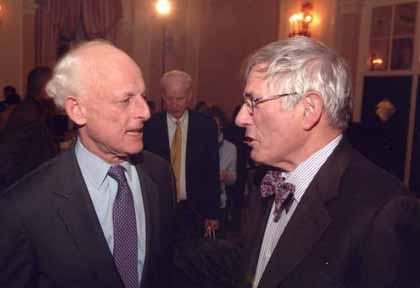 Lewis Lehrman and Richard Gilder