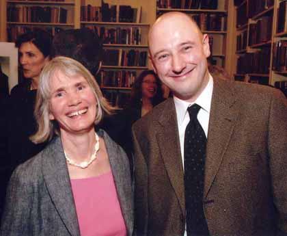 Rebecca Scott and Richard Follett