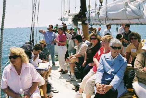 Aboard the Argia