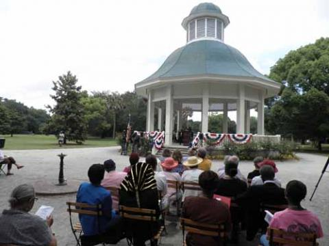 Dedication of the Charleston Memorial Day Site