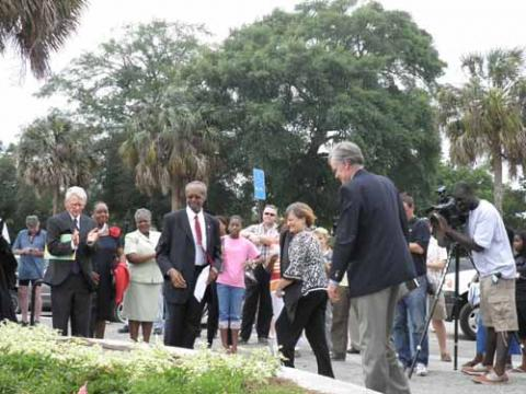 Dedication of the Charleston Memorial Day Site pic 2