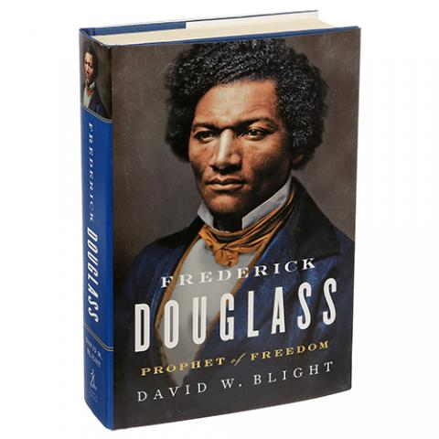 """A Big New Biography Treats Frederick Douglass as Man, Not Myth"" - New York Times review of GLC director David Blight's new book"