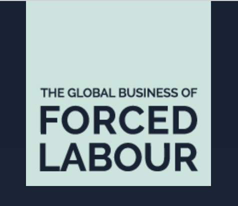 Logo for the Global Buisness of Forced Labour Website