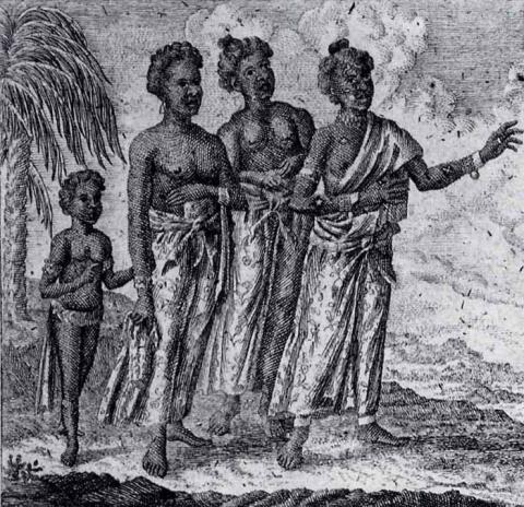 West African women  (18th century)