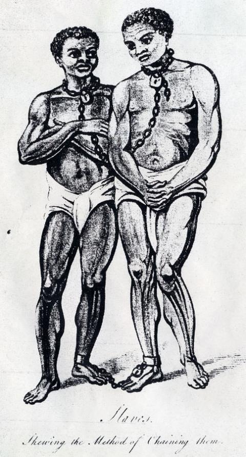 Slaves in Sierra Leone, ca. 1803