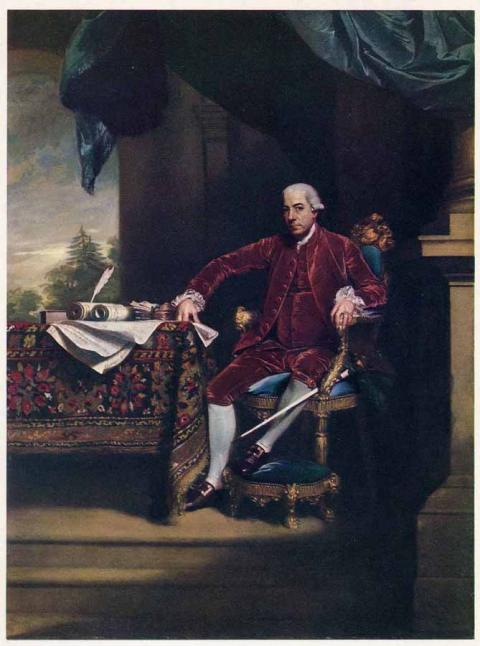Henry Laurens, the Charleston slave merchant who sold Priscilla   Credit: National Portrait Gallery