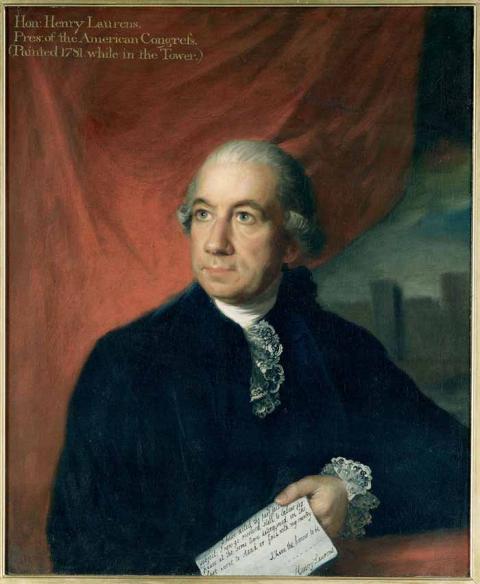 Portrait of Henry Laurens  Credit: Corcoran Gallery