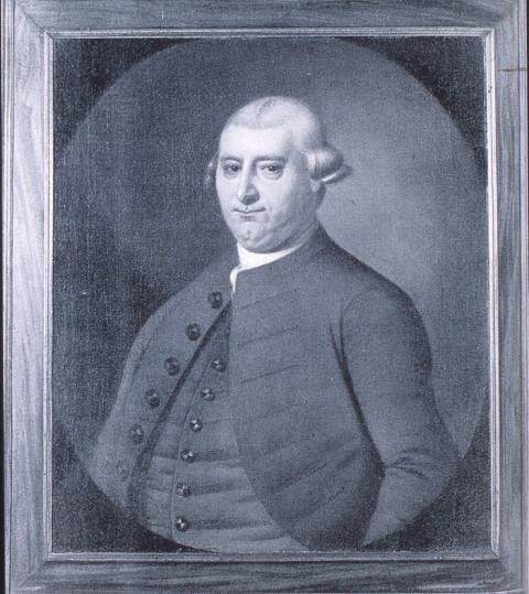 Elias Ball II, the planter who purchased Priscilla  Credit: Museum of Early Southern Decorative Arts