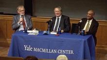 From left: David Blight, Raymond O. Arsenault, and Benny Sims Jr.