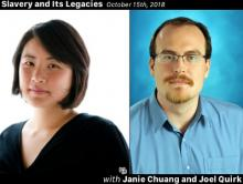 Slavery and Its Legacies Podcast Episode - Janie Chuang and Joel Quirk on the Impacts of Terminology in the Modern Anti-trafficking Movement